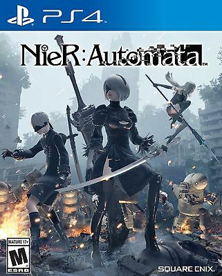 Nier: Automata [PlayStation 4 PS4, Square Enix RPG, Video Game, Action] NEW