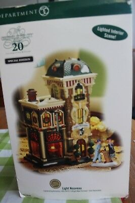Dept. 56 Christmas In The City Light Nouveau 59262 - 20th Year Special Edition