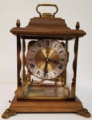 Vintage Schatz Royal 8 Day Triple Chime Mantel Clock