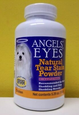 Angels' Eyes Natural Tear Stain Powder- Chicken 5.29 oz/150 g. Exp. 07/2020. New