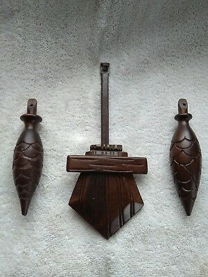 Large carved Wooden. Battery Operated Cuckoo Clock Parts