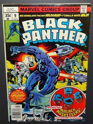 Black Panther #9 1978 7.5 Jack Kirby sty/art; Blk Musketeers-Movies BV$15 30%Off