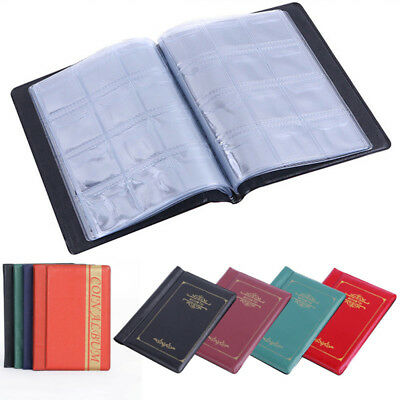 2 Style-120 Album Coin Penny Money Storage Book Case Folder Holder Collection