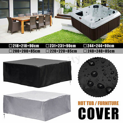 6 Various Sizes Spa Hot Tub Dust Cover Cap Waterproof Jacuzzi Hotspring UV Proof