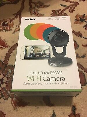 D-Link Full HD 180-Degree WiFi Security Camera DCS-2530L - New in the box!