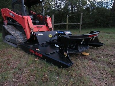 "CAT Skid Steer Attachment 72"" Direct Drive Brush Cutter Bush Hog - FREE SHIP!"