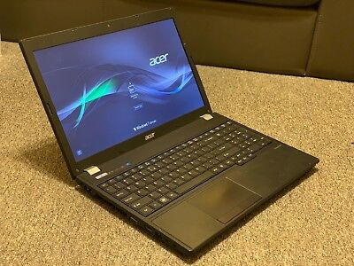 Acer TravelMate 5760 Intel Core i3-2310M 2.10GHZ 500GB HDD 4GB Ram +Charger #B23