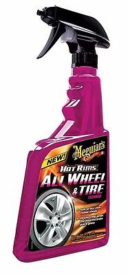 MEGUIAR`S MEGUIARS HOT RIMS ALL WHEELS & TYRE TIRE CLEANER - 710ml Detailing