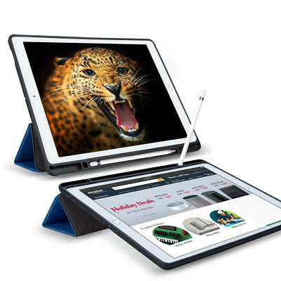"""Shockproof Smart Slim Stand Case With Pencil Holder For New iPad 9.7"""" Pro 10.5"""""""
