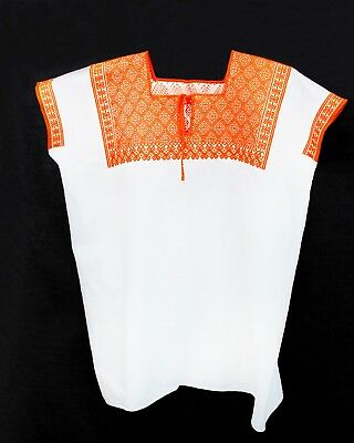 Chiapas Traditional Tzotzil Embroidered Blouse for Women Hand Made  Indigenous 098516051171
