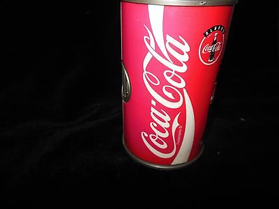 Rare Collectible Coca Cola Can Music Coin Machine Plays Song Great Shape