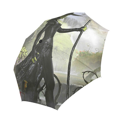 Wicked Witch Of The West Auto Foldable Rain Umbrella