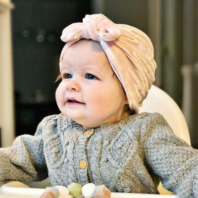 Kids Baby Girl Toddler Turban Headband Hair Band Accessories Headwear For Infant