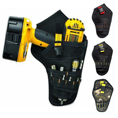 1PC Tool Waist Belt Bag Pocket Electric Drill Holster Cordless Pouch Heavy Duty