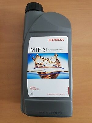 Genuine Honda Mtf3 Manual Transmission Fluid 1Ltr