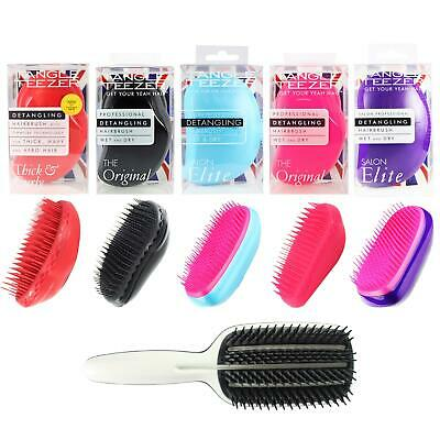 Original Elite Tangle Teezer Detangling Hair Brush Tamer Tangled Detangler Kids