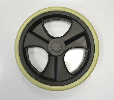 """12"""" Rear Wheels for the Z-Tec Transit 601X Wheelchair (Pair) Used Spare Solid"""