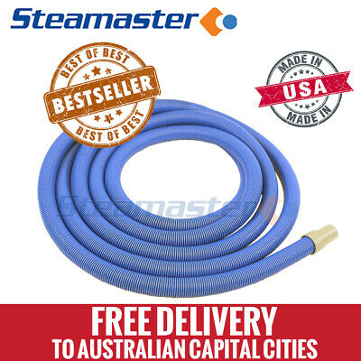 "Steamvac Carpet Cleaner Vacuum Hose 1.5"" 38mm GVac 15m Portable Heated Extractor"