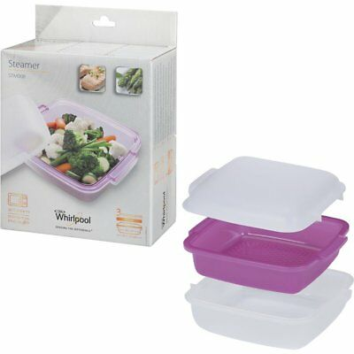 Whirlpool Steamer For The Microwave Healthy Cooking Pasta Rice Veg  C00334697