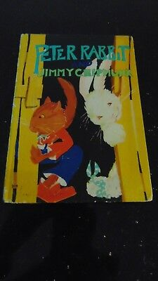 1918 1St Ed. Peter Rabbit And Jimmy Chipmunk Illustrated By Virginia Albert