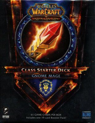 New Sealed Class Starter Deck Gnome Mage Alliance World of Warcraft WoW TCG 2011