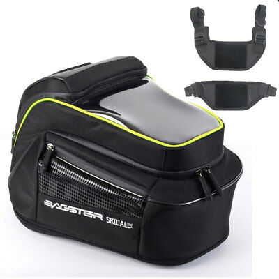 Bagster Matrix 15 Litre Motorcycle Motorbike Tank Bag - Traditional tabs fitting