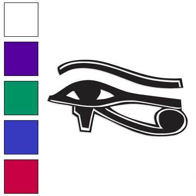 Eye of Horus Wadjet Decal Sticker Choose Color + Size #271