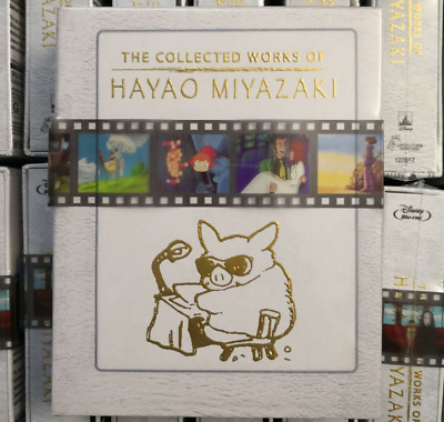 The Collected Works of Hayao Miyazaki Blu-ray Box Set Collection Collectible New