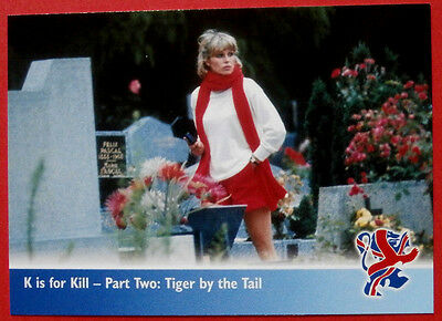 THE NEW AVENGERS - Card#45 - K is for Kill, Tiger by the Tail, Strictly Ink 2006