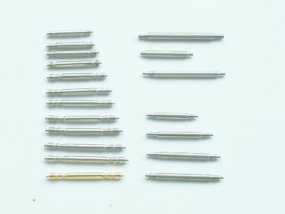 Stainless steel spring pins bars for Rolex 19 sizes and styles available UK
