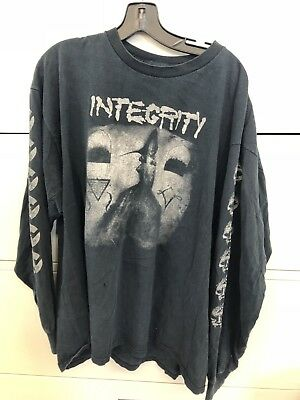 VTG INTEGRITY T SHIRT 2XL Seasons In The Size Of Days Long Sleeve H20 Rare 1997