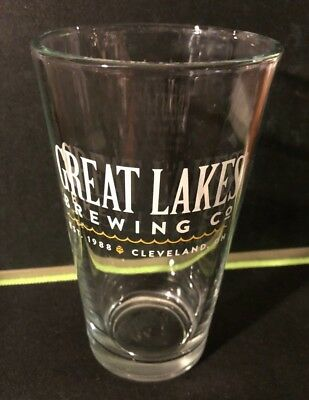 GREAT LAKES Brewing Company CLEVELAND Ohio 16 oz. Craft Beer Pint Shaker Glass