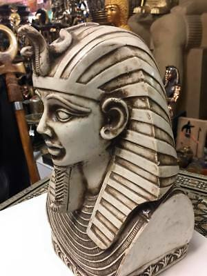 Large Unique Egyptian King Tut Mask Hand Made In Egypt