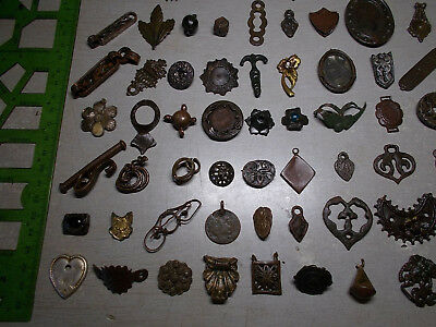 Metal detector finds.Mix lot  (11-20th century) 125 pieces. N8
