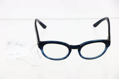 Marc By Marc Jacobs Cerulean Blue Round Lens Glasses MMJ 538