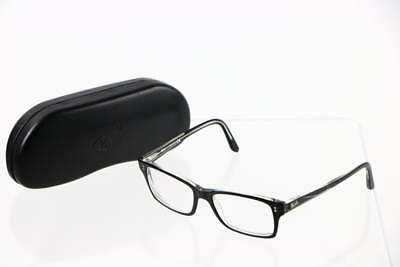 Ray Ban Black Rectangular Lens Glasses RB 5225