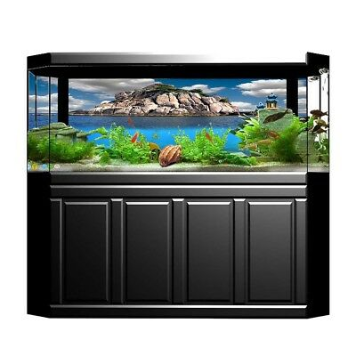 3D Prints Aquarium, Fish Tank Background Poster Landscape Decorative Paper