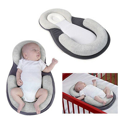 Baby Stereotypes Pillow Newborn Infant U Shape Anti Roll Pillows Pad Kids Mat