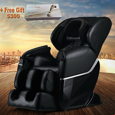 Brand New Massage Chair 8351n Zero-G Human Touch Heating Foot Roller Black