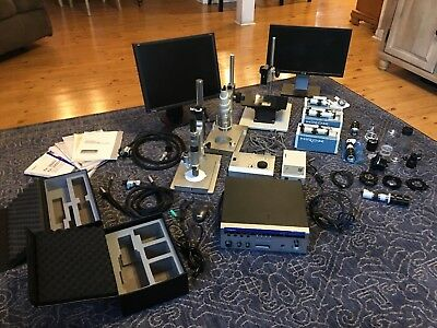 Huge Hirox Microscope Lot KH-3000 MX 5030RZ II MX800 MX400 CT-7 Motorized Stage