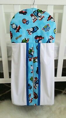 "Brand new "" Thomas the Tank Engine & Friends"" Nappy stacker in white/blue"