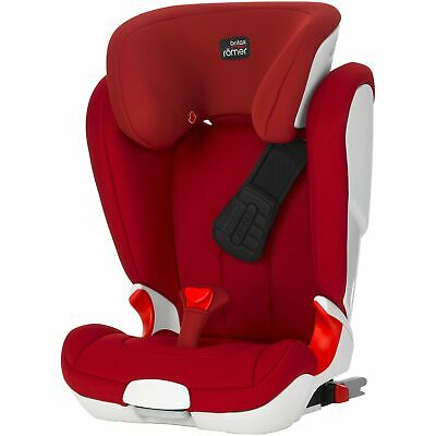 Britax Romer KIDFIX II XP Group 2 / 3 R44/04 Child / Kids Car Seat - Flame Red