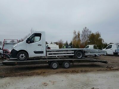 Car transporter recovery truck body for Ford Transit LWB TWIN WHEEL