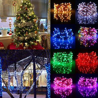 2M 200LEDS LED Fairy Lights Home Xmas Festival Decor Waterproof Timer Function