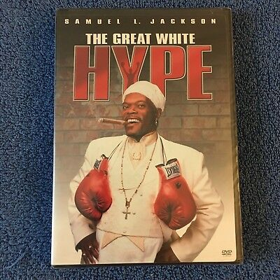 The Great White Hype (DVD, 2004, Full Screen, Widescreen) Brand New Sealed