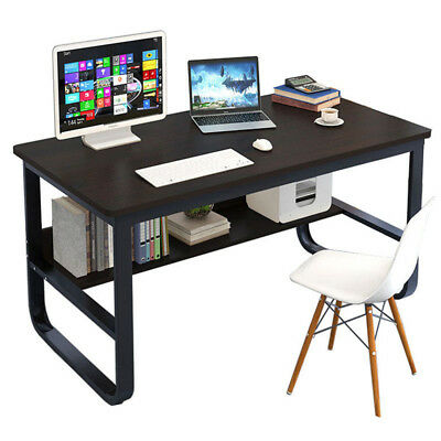 A88 Home Office Desk Computer PC Writing Table  Wooden Metal Furniture MDF
