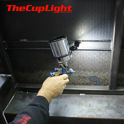 Automotive Spray Painting Gun Cup Light Great for Auto, Industrial, Commercial