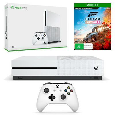 Xbox One S 1TB Console with Forza Horizon 4 Bundle NEW