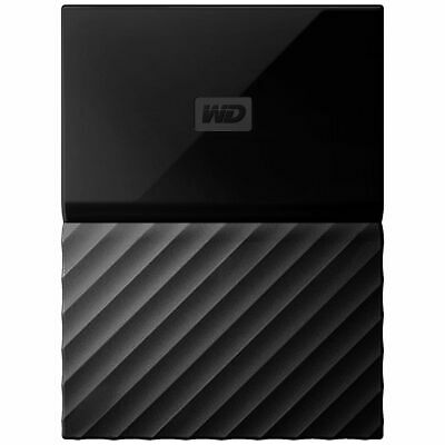 WD 1TB My Passport for Mac Portable Hard Drive Black