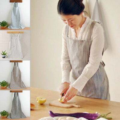 Unisex Fashion Bib Adult W/ Pockets Women Kitchen Cooking  BBQ Pub  Apron